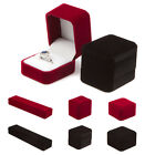 Classic Luxury Velvet Ring Earrings Pendant Necklace Bracelet Watch Boxes (LRH)