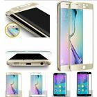 Full Curved Cover Tempered Glass Screen Protector F Samsung S6 Edge Plus S7 Edge