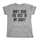 Used, Don`t Read The Rest Of My T-Shirt..You little Devil Mens & Ladies Unisex Fit T-s for sale  United Kingdom