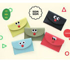 Som Som Stitch Card Pocket Case Credit Business ID Card Holder Cute Wallet Purse