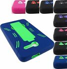 "FOR ALCATEL ONE TOUCH PIXI 7 7.0"" RUGGED HYBRID ARMOR IMPACT CASE COVER+STYLUS"