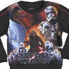 Boys Star Wars 7 Force Awakens Jumper Sweater Top Ages 3-10 Years Kylo Ren Sith