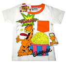 Infant toddlers GARFIELD cotton summer t-shirt Size 1,2,3 Age 1-3 yrs Free Ship