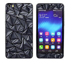 1pcs rhombus diamond 3D Front+Back Film Foil Screen Protector for Huawei Honor