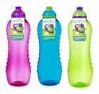 Sistema Twist n Sip Drink Water Bottle Various Sizes And Colours BPA free