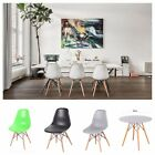 Retro Eiffel Inspired DSW Dining Chairs Dining Tables DAW ArmChair Minamalistic