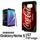 Coca Cola Vending Samsung Galaxy Note 8 9 S8 S9 S10 + Phone RUBBER Edge Case 4 $10.49  on eBay