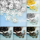 20g About 150-160Pcs Filigree Iron Flower Bead Caps Jewellery Findings 8x8mm
