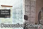 Pack of 10 Decorative Screens panel- Garden Indoors Wall Art DIY FREE SHIPPING