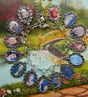 DISNEY CHARACTER PICTURE CHARM BRACELET BEAUTY AND THE BEAST PRINCESS BELLE