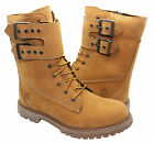 Timberland Ek Premium 8 Inch 2 Buckle Strap Womens Boots Wheat 8240A D82