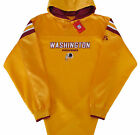 Washington Redskins NFL Long Pass Team Colors Hoodie Jersey-Adult XL-NWT