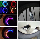 Advanced LED Wheel Tyre light Tire Valve Cap Flash For Bike Car Motorcycle