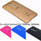 "For ASUS ZenFone2 5.5"" ZE551ML ZE550ML Replace Battery Back Door Cover Hard Case"