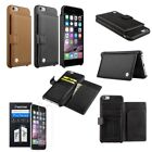 """CobblePro Genuine Leather Wallet Case+Protector For iPhone 6 6s Plus 4.7""""/5.5"""""""