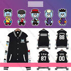 Kpop Bigbang Baseball Uniform MADE GD G-Dragon Coat Varsity Jacket Outwear