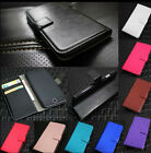 New Luxury Glossy Leather Folio Case Cover Wallet Card Holder For Samsung Galaxy