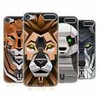 HEAD CASE DESIGNS ANIMALI ROBOT COVER MORBIDA IN GEL PER APPLE iPOD TOUCH MP3