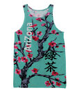 Arizona Green Tea  All Over Print Tank Top Crop #V062