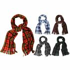 Kyпить Super Soft Scarf, Cosy and Warm Tartan Check Fleece Scarves with Tassles на еВаy.соm