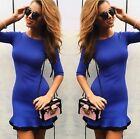 New Womens Party Bodycon Dress Ladies Evening Cocktail Dress T1217c