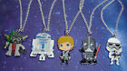 STAR WARS CHARACTER CHARM PENDANT NECKLACE IN GIFT BAG YODA SKY WALKER R2-D2 £2.99 GBP