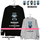 Kpop Bigbang Bear Sweater MADE GD G-Dragon Unisex Pullover Sweatershirt Hoodie