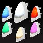Automatic LED Night Light Plug in Energy Saving Dusk 2 Dawn Multicolour Listing