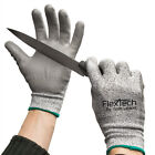 3 Pairs Of Wells Lamont Flextech Cut Resistant Gloves Work HDPE High Performance