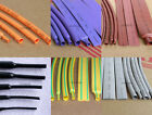 1M/5M Orange/Purple/Brown/Gray Heat Shrink Tubing 2:1 Polyolefin 1~40mm ROHS UL