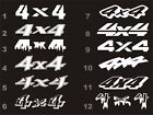 4x4 decals fits Ford F150 F250 F350 Superduty bedside 12 styles 15 colors $9.54 USD