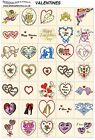 VALENTINES DAY. CD machine embroidery designs files most formats celebrations