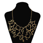 Women's Fashion Coral Reef Bib Collar Gold/Silver Necklace