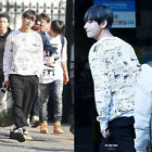 KPOP BTS V Fashion Sweater Bangtan Boys New Long Sleeve Hoodie Pullover