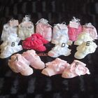 BABY GIRL BEAUTIFUL DOUBLE FRILL LACE SOCKS 0/6 MONTHS-6 DESIGNS-VERY CUTE- NEW