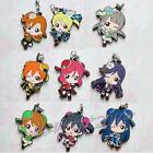 Love Live Rubber Keychain Strap Phone Charm 1 pcs Cute Cheongsam Limit Ver