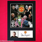 ALEX FERGUSON Signed Autograph Mounted Photo REPRODUCTION PRINT A4 343