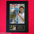 ANDY MURRAY tennis Signed Autograph Mounted Photo REPRODUCTION PRINT A4 43