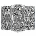 HEAD CASE DESIGNS ANIMAL SKULL B&W HARD BACK CASE FOR LENOVO PHONES