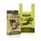 Earth Rated FLAT POOP BAGS W/ HANDLE Dog Waste 120 bags UNSCENTED
