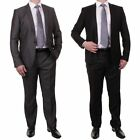 Mens Voeut 2 Piece Light Weight Stylish Fitted Slim Fit Prom Suit In 2 Colours