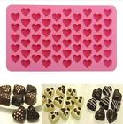 Silicone Mould Love Heart Chocolate Cookies Baking Mold Ice Cube Cake Tray 1pc