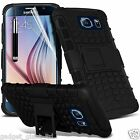Samsung Galaxy S7 Dual Layer Tough Shockproof Builder Armour Case cover Guard