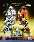 Carolina Panthers vs Denver Broncos Super Bowl 50 Photo SR015 (Select Size)