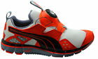Puma Disc Ltwt 2.0 Lightweight Mens Trainers White Red Slip On 186701 04 D11