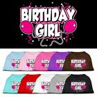 Birthday Girl Dog Tee Shirt Pet Puppy Funny Dog Clothes Party Apparel