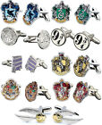 Harry Potter: Silver Plated Cufflinks - Knight Bus / Platform 9 3/4 / Hogwarts