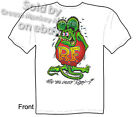 Ed Roth Rat Fink T shirt, Big Daddy Shirts, Signature Tee, Sz M L XL 2XL 3XL, Ne