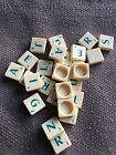 Standard Scrabble Spears Spare Extras spare Letters Green Letter Tile You choose