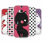 HEAD CASE DESIGNS CATS AND DOTS SOFT GEL CASE FOR HTC ONE M8 M8S